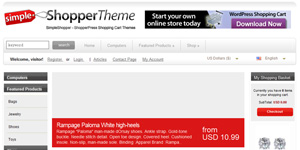 Simple Shopper Theme
