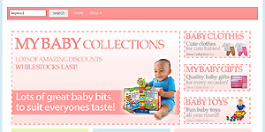 Baby Shopper Theme