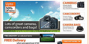 Camera Shopper Theme
